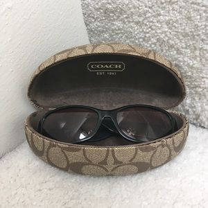 Coach Sunglasses Case and Sunglasses